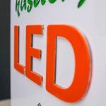 Kasetony LED frezowane